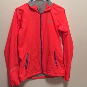 Neon Pink The North Face Jacket
